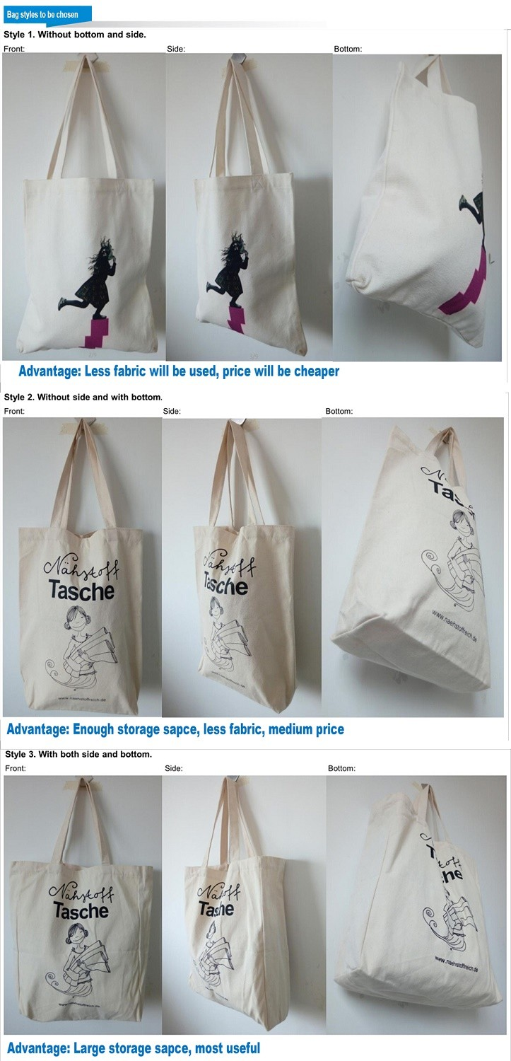 Top Quality Recycled Cotton String Bag Natural Cotton Cosmetic Bag For Shopping