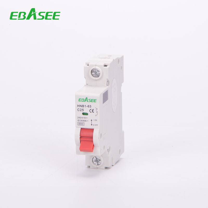 Automatic MCB 63A 1-pole 1/63A Rated voltage 400V C - type class For 35mm wires