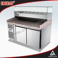 Pizza Restaurant Countertop Pizza Refrigerator/Refrigeration Pizza Working Table/Pizza Refrigeration Table