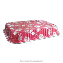 Colorful food packing Foil container