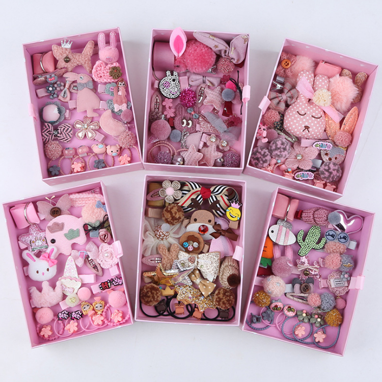 24PCS Korea Design <strong>Hair</strong> <strong>Accessories</strong> Set For Baby Girls
