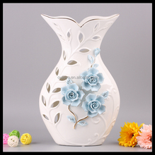 Creative new porcelain modern flower vase for decoration