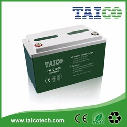 Taico 100AH Rechargeable Storage Battery 12V For Solar System