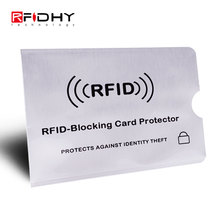 Low Price Aluminum Foil RFID Blocking Sleeves for Credit Cards