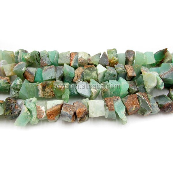 SB6379 Wholesale chrysoprase chips beads,natural stone chips