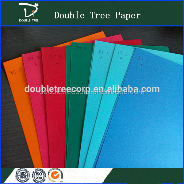 China Factory Colour A3 A4 Size Bristol Board Paper /Colourful Cardboard Manila Board