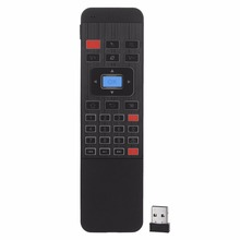 SuperSeptember P3 wireless controller rechargerbale air mouse 2.4G 6-Axis remote control with mini wireless Backlit keyboard