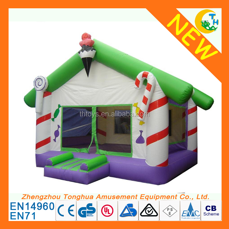 2017 funny park games giant inflatable bounce house for hot sale
