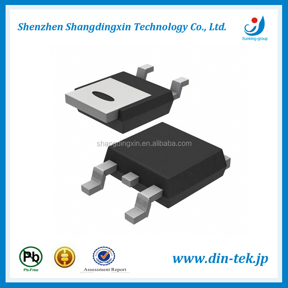 N-Channel 30 V (D-S) MOSFET TO-252 DTU06N03