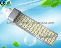Color temperature adjustable remote control 13w g24 base led lamp bulb