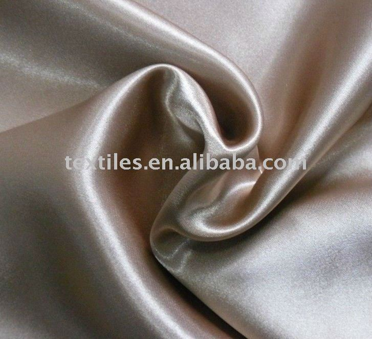 100% POLYESTER BACK CREPE SATIN