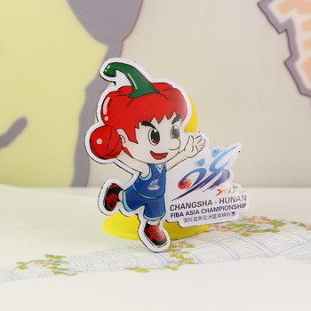 FIBA mascot chili boy shape ornaments cute novelty unique fridge magnet