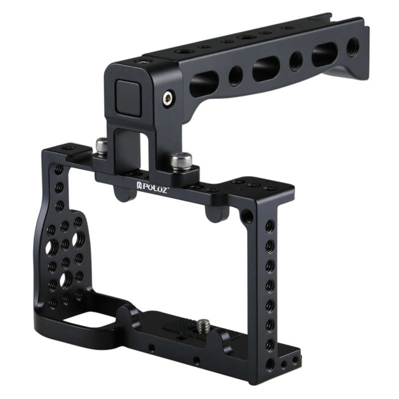 in stock High Quality PAY <strong>10</strong> GET 11 PULUZ Camera Cage <strong>Handle</strong> Stabilizer for Sony A6300 / A6000
