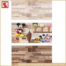 Cute Mickey Mouse Design 20x60Cm Inside Front Wall Tile