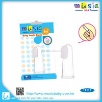 Baby silicone training Toothbrush teether for infant