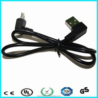 Micro usb charging cable Micro USB elbow cable