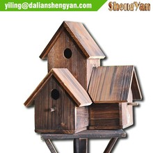 Chinese cedar small decorative bird cages