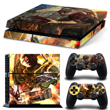 Hot Sale For Game Vinyl Game Protective Skin Sticker for PS4 PlayStation #TN-P4-5293