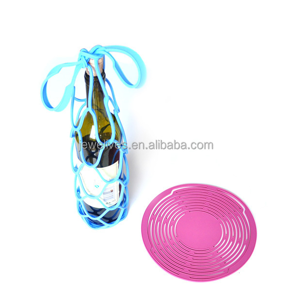 Promotional bar accessories silicone wine gadgets