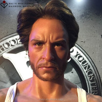 Hyper-Realistic Lifesize Wax Figures for Hugh Jackman