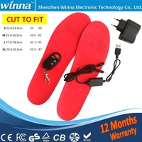 Custom Made EVA Material Thermo soles/heated insole/foot warmer