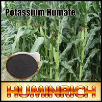 Huminrich Mineral Fertilizer Potassium Humate Soluble Humic Acid Lignite Coal
