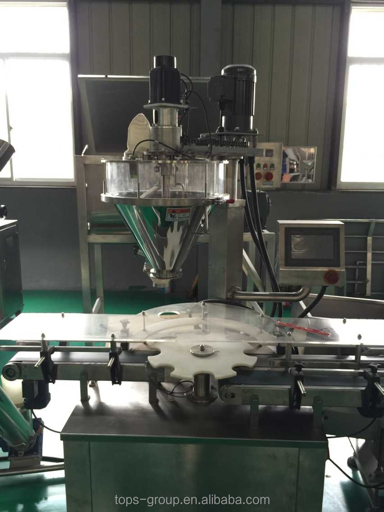 Hot sale spirulina powder filling machine/auger filler