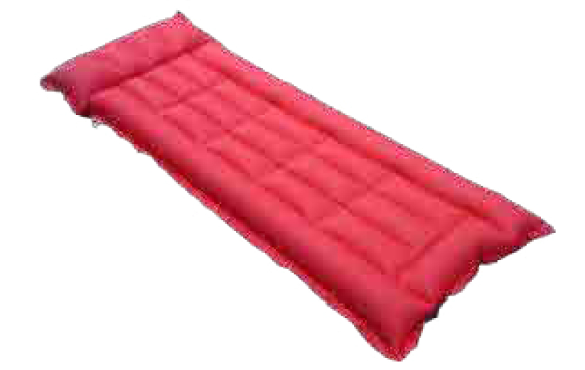 rubber air bed rubberised cotton