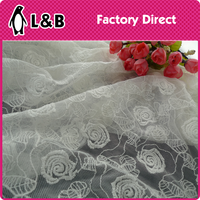 WW308# high quality italian lace fabric elegant fabric heavy cord lace fabrics 5 yards