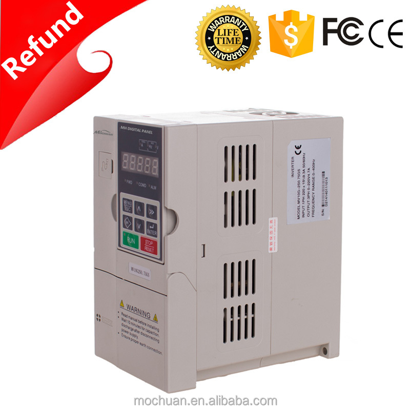 50hz output rs485 3hp 220v single phase vfd vsd ac drive 3hp 220v single phase motor