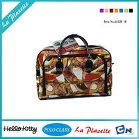 hot new products for 2014 pink and green travel bags