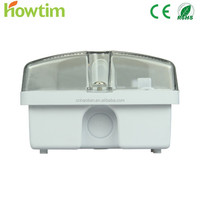 HT-A801/18 8W Fluorescent IP65 led tube emergency lantern bulkhead light rechargeable with CE&RoHS