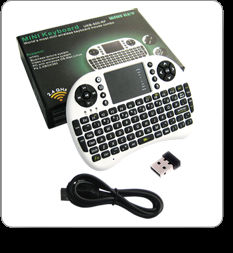 Wireless Keyboard + Mouse Combo + Multi Use ( PC, Notebook, Car TV, PC, etc)