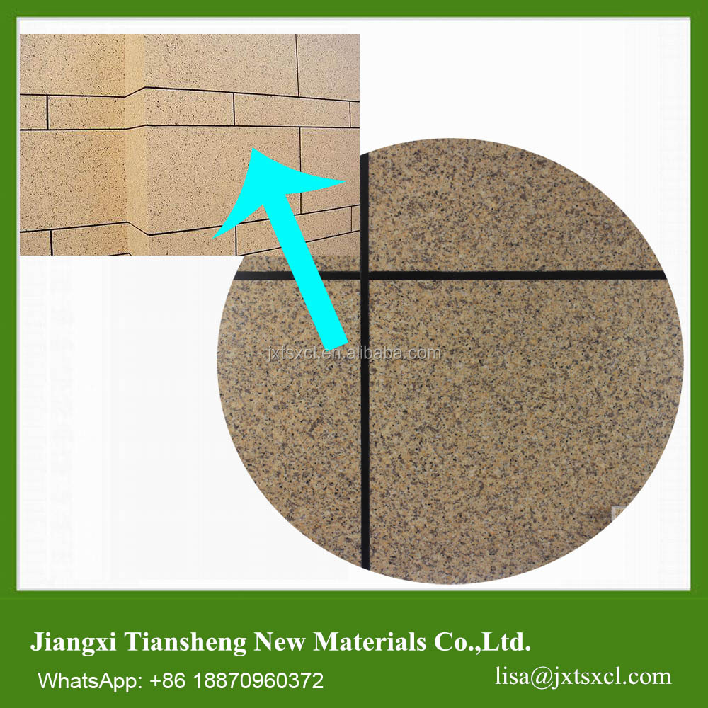 Liquid Granite textured paint for exterior wall