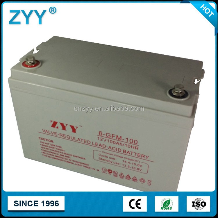 ZYY 6-GMF-100 Rockets 10HR 12V 100Ah UPS Battery