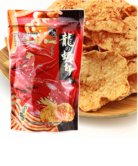 Foil laminated standing food grade plastic packaging bag for potato chips /snacks