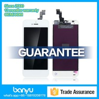 Brand new top quality for iphone 5s lcd phone screen replacement
