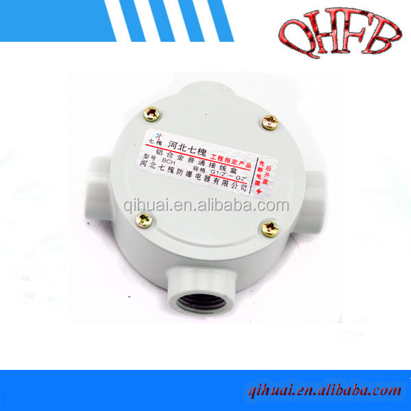 aluminum round outlet box with cover