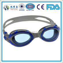 Hot sale silicone swim goggles for adult , triathlon swimming goggles