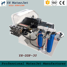 Yuanhong water jet intensifier pump; 5 axis waterjet cutting machine