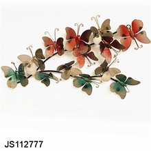 Wall metal art butterfly decor Garden wall