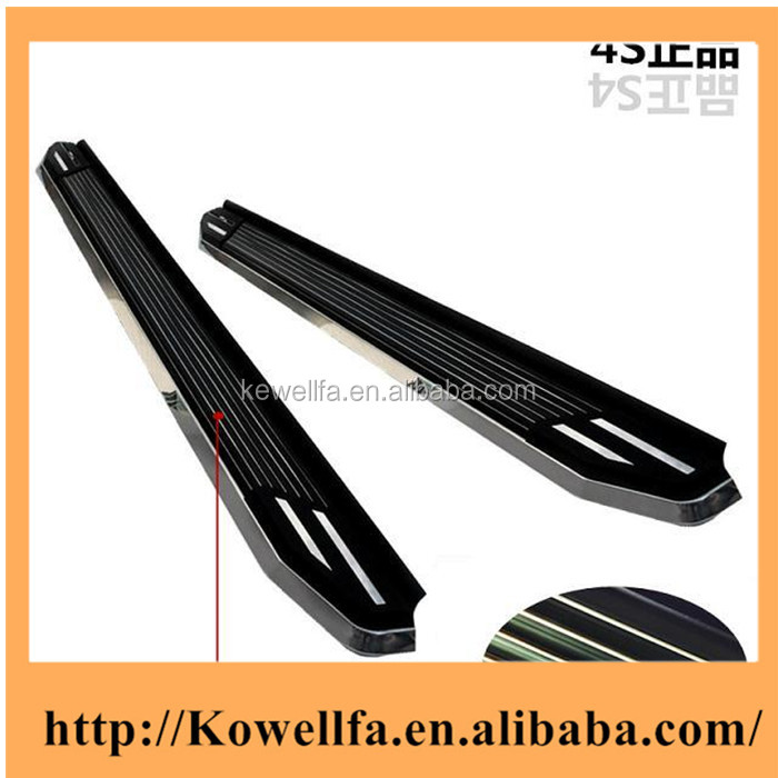 Factory Wholesale New Customized LED SUV side step,running board ,car side guard/foot plate/pedal plate