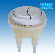 China manufacturer ABS plated toilet parts top flush push button