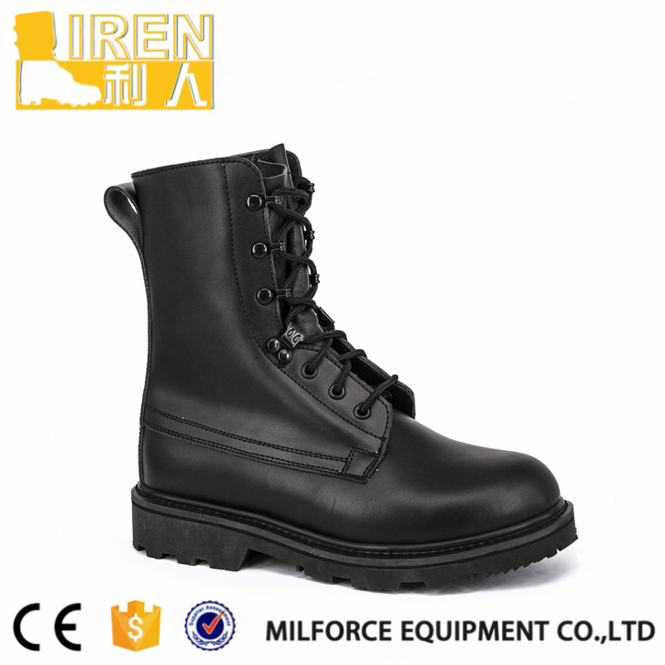 Hot Selling Cheap Custom Leather dubai police boots