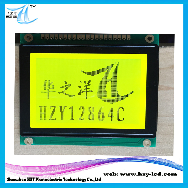 parameters available 12864LCD graphic NT7107 IC Chinese lcd modules