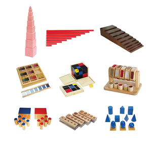Kindergarten and Preschool Educational Wooden Toys Montessori Materials For Kids