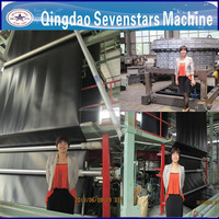opening 10m geocell plastic film blowing machine price