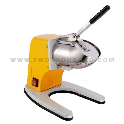 <strong>100</strong> Kg/<strong>H</strong> Most Popular Manual Block Yellow Ice Shaver Machine TT-I115A