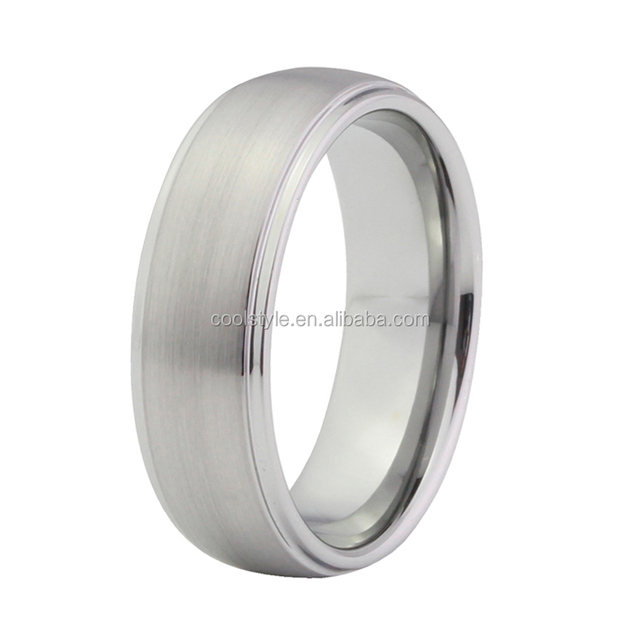 7mm best seller titanium wedding band with high quality and comfort fit