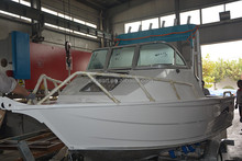 17ft new Oceania design fishing yacht aluminum fishing boat for sale malaysia